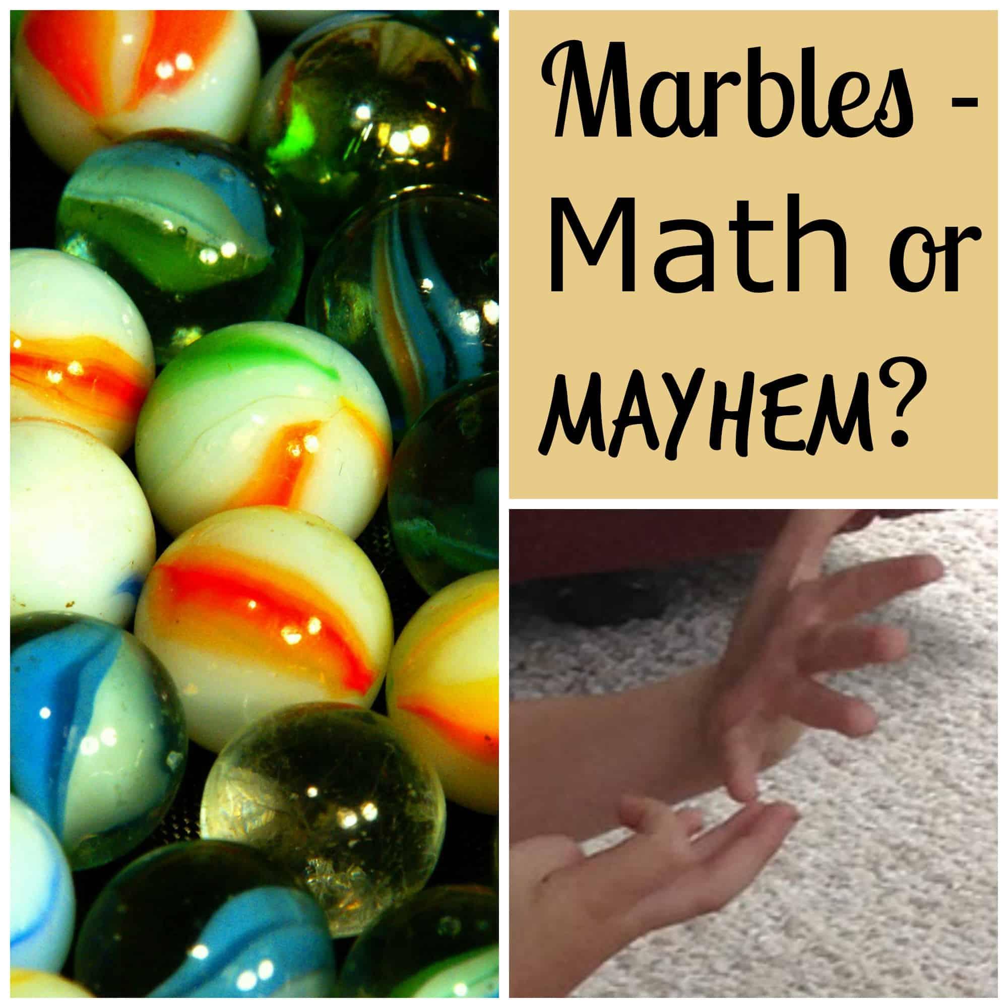 Marbles - Math or Mayhem