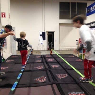 kid activities at the Boston Ski expo