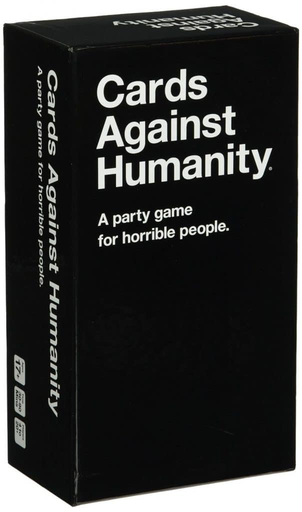 Cards Against Humanity - An adults only game to play while camping or around the campfire when the kids are sleeping.