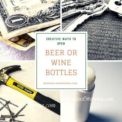Beer or Wine Bottles Open