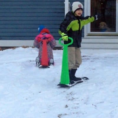 Best Sled for Kids – A Ski Scooter