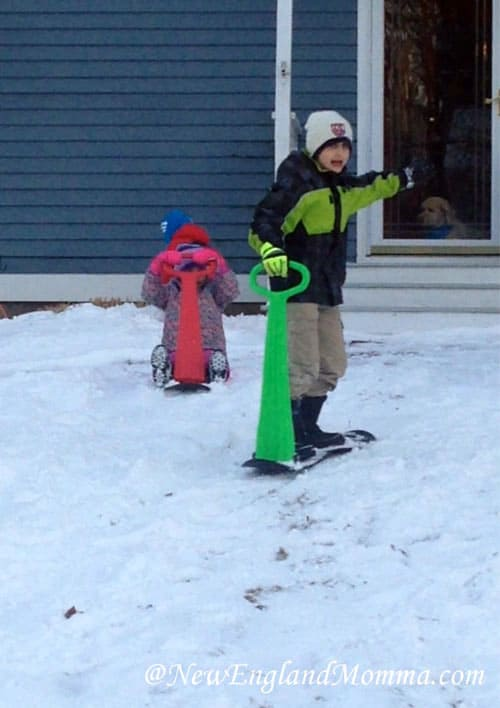 Easily the best sleds to use when you have little to no snow!