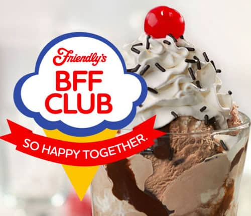 Sign up for exclusive perks and 25% off your next visit to Friendly's!