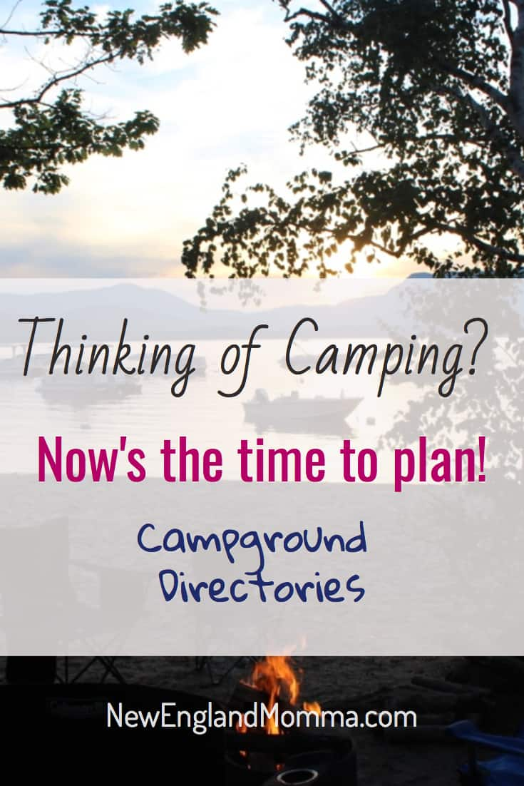 Starting your camp planning? Check out these awesome camp resources to book a site in New England!
