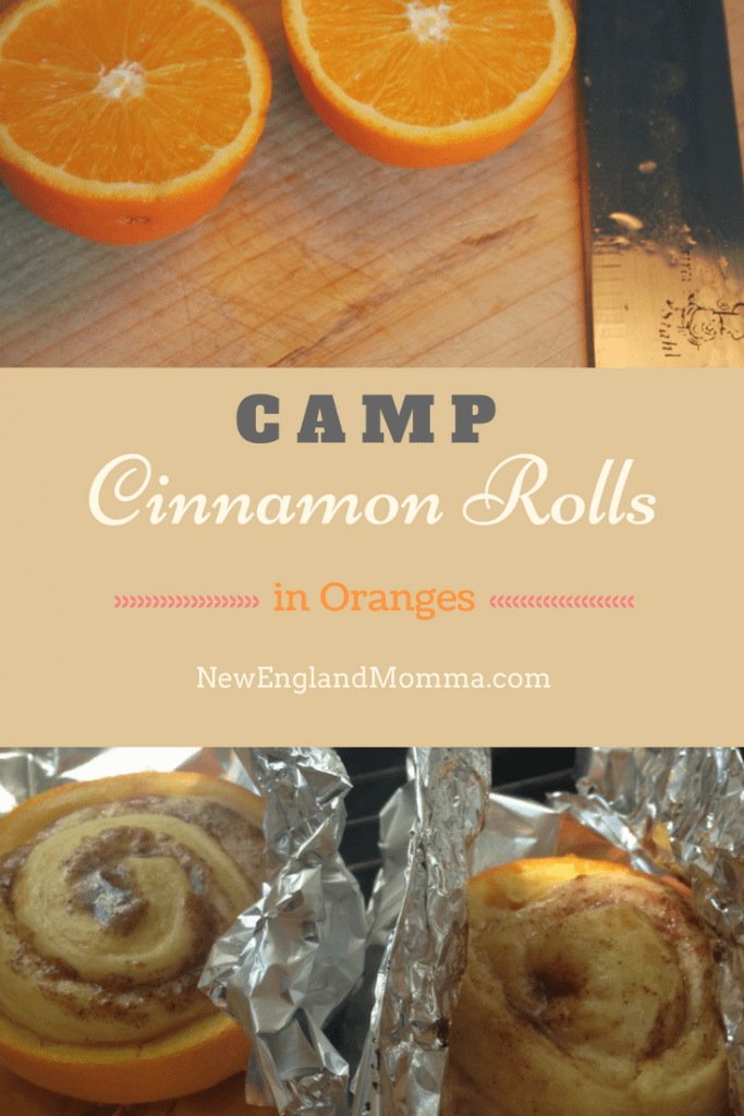 This is a fun way to cook cinnamon rolls while camping and no burnt bottoms! Oranges and Cinnamon rolls bake up on the grill! Super Ooey-gooey good! #CinnamonRolls #CookingWhileCamping #CookingOverTheGrill #GrillCooking #CampCooking #Campingwithkids #CampKids #OrangeCinnamonRolls