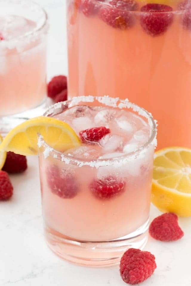 Raspberry Margarita - Perfect summer drink