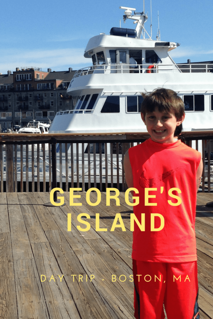 George's Island, one of the Boston Harbor Islands is a great day trip for families. Take a passenger ferry shuttle over to the island and spend the day exploring historic Fort Warren.