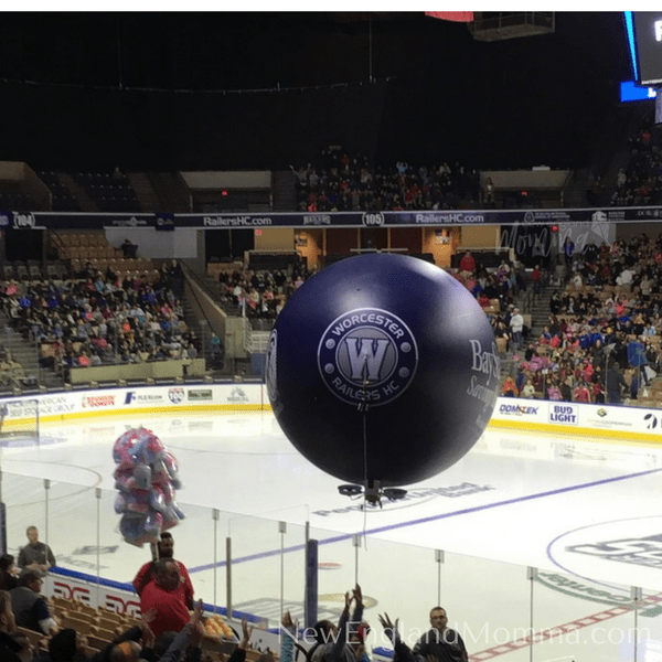 Attending a Worcester Railers game is a fun and exciting way to have an outing with your whole family!