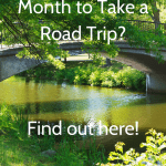 Which month is best for a family road trip?
