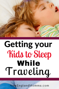 Traveling with Kids? Here are ways that I am able to get my kids to calm down and get ready for sleep when we are not at home. Try one or more and let me know if it helps.