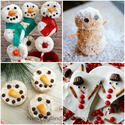 15 Cute & Yummy Snowman Recipes for Winter