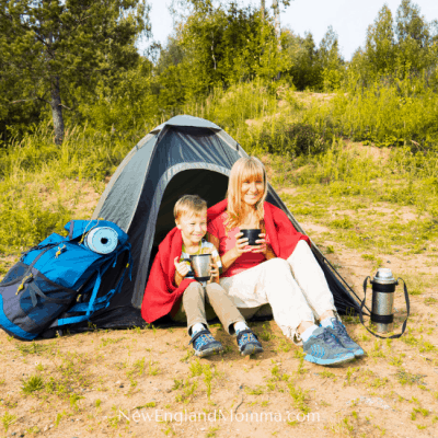Camping can be a great opportunity to have some fun outdoors together. It can be simple with the basics or elaborate with lots of items. Either way, you'll make some great memories! #Camping #FirstTimeCamping #CampingHacks #ParentingCamping #CampingwithKids #GoCamping #GetOutside