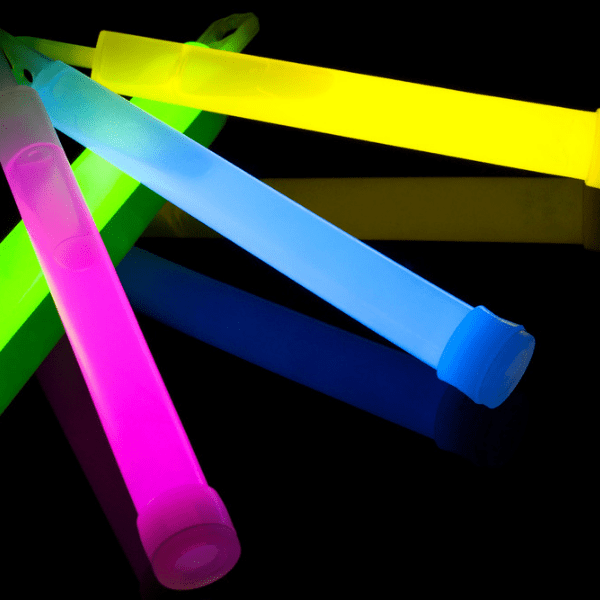 glow sticks are bright and make everything more fun as well as being useful when kids are out in the dark.