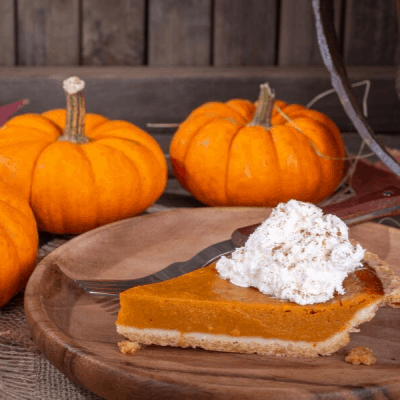 pumpkins and pumpkin pie for the fall