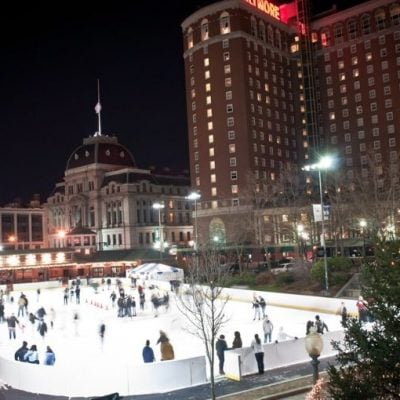 5 Awesome Outdoor Ice Skating Rinks in New England