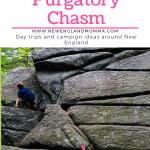 Kids climbing up a rock